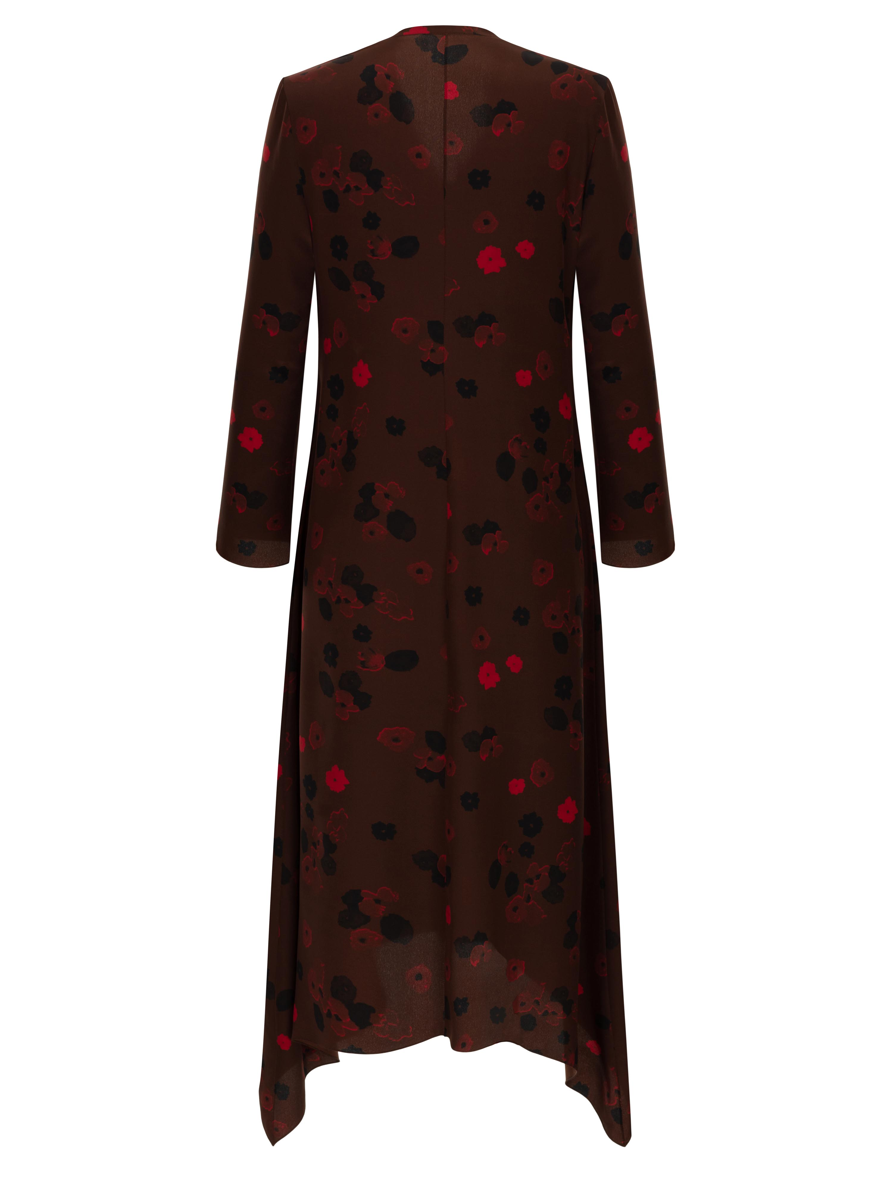 LILY AUTUMN LEAVES DRESS