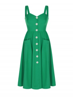 DARIA GREEN DRESS