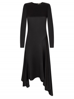 VERA GRAPHITE DRESS
